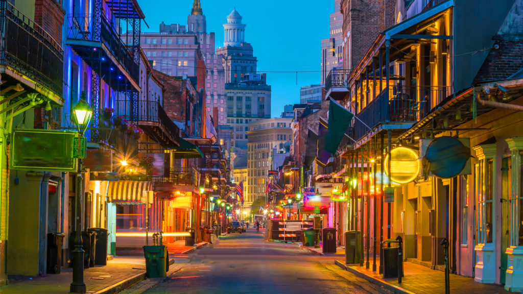 hotels for groups in New Orleans
